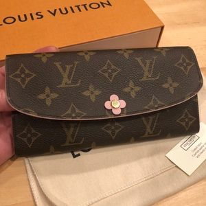 Louis Vuitton Emilie Bloom Wallet